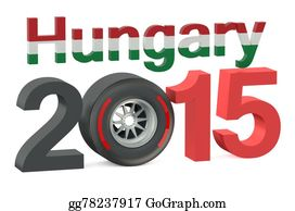 Formula-1-Racing-Car - F1 Formula 1 Hungary Grand Prix In Hungaroring 2015 Concept