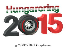 Formula-1-Racing-Car - F1 Formula 1 Grand Prix In Hungaroring 2015 Hungary Concept