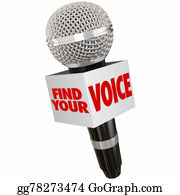 Public-Speaking - Find Your Voice Share Opinion Microphone