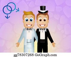 Same-Sex-Wedding - Young Gay Wedding Couple