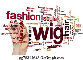 Wig - Wig Word Cloud