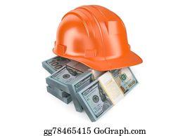 Hard-Cash - Hard Hat With Money