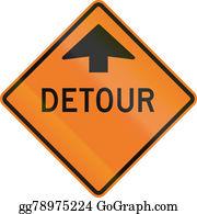 Roadworks - Detour Ahead In Canada