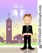 Headstone - Priest Prayer