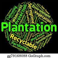 Plantation - Plantation Word Means Farms Ranches And Farming