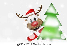 Reindeer-Christmas-Silhouettes - Christmas Reindeer