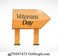 Veterans-Day - Veterans Day Wood Sign Illustration Design Icon