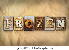 Ice-Age - Frozen Concept Rusted Metal Type