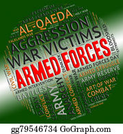 Armed-Forces - Armed Forces Shows Military Service And Arms