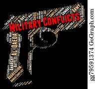 Armed-Forces - Armed Conflict Indicates Military Conflicts And Battle