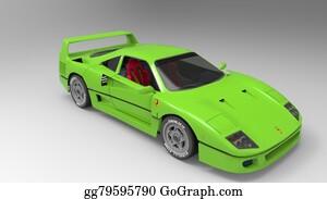 Race-Car - Sport Car