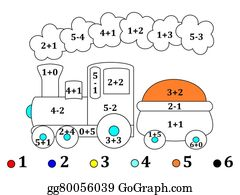 counting and drawings for small children illustration - Drawing For Small Children