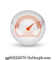 Electric-Meter - Speedometer Icon