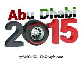 Formula-1-Racing-Car - F1 Formula 1 Grand Prix In Abu Dhabi 2015