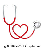 Cpr - Stethoscope In Shape Of Heart