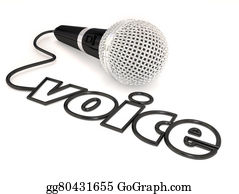 Public-Speaking - Voice Microphone Cord Word Singing Talent Show