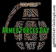 Armed-Forces - Armed Forces Day Represents Fighting Machine And Armament