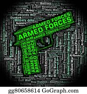 Armed-Forces - Armed Forces Indicates Military Service And Army