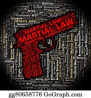 Armed-Forces - Martial Law Shows Armed Forces And Legally