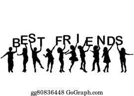 Best-Friends - Children Holding Letters Building The Words Best Friends