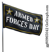 Armed-Forces - Armed Forces Day Usa Flag