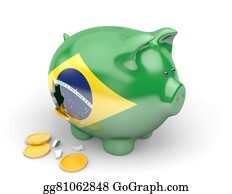 Government-And-Economy - Brazil Economy And Finance Concept