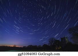 Astronomy - Star Trails - Astronomy