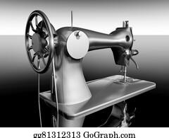 Sewing-Machine - Vintage Sewing Machine