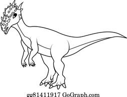 cartoon dinosaur holding balloons coloring book dracorex dinosaur