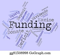 Fundraiser - Funding Word Means Money Funded And Fundraiser