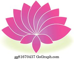 Golden-Lotus-Flower-Logo - Lotus Symbol Pink Flower Logo Art