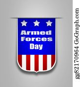 Armed-Forces - Ribbon On The American Armed Forces Day