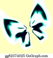 Odd-Shapes - Ribbon Knot Or Butterfly White.