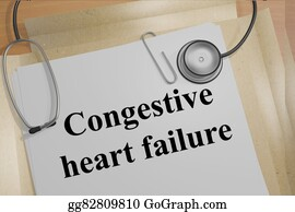 Geriatrics - Congestive Heart Failure Concept