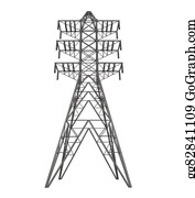 Power-Transmission-Line - Power Transmission Tower