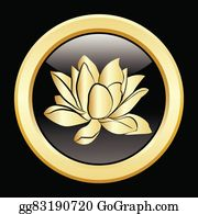 Golden-Lotus-Flower-Logo - Golden Lotus Flowers Icon