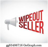Wipeout - Wipeout Seller Message Concept Sign