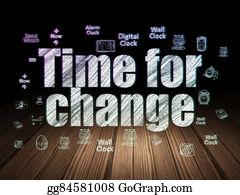 Changing-Rooms - Timeline Concept: Time For Change In Grunge Dark Room