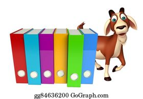 Goat-Cartoon - Goat Cartoon Character With Files