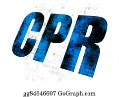 Cpr - Medicine Concept: Cpr On Digital Background