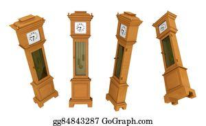Grandfather-Clock - Longcase Clock