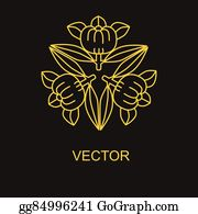 Golden-Lotus-Flower-Logo - 0316_75 Logo Design