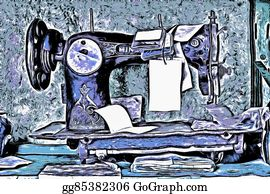 Sewing-Machine - Old Sewing Machine
