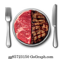 Butchers-Meat - Steak Dinner Symbol