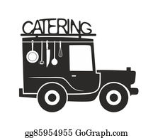 Food-Truck - Catering Symbol Template