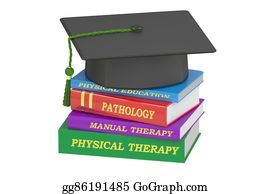 Medical-Textbook - Physical Therapy Education, 3d Rendering