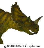 Horned-Lizard - Centrosaurus Dinosaur Head