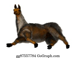 Alpaca - 3d Illustration Llama Or Lama On White
