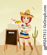 Mexican-Girl - Mexican Menu