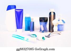 Toilet-And-Cleaning-Brush - Toothpaste, Brush, Soap, Balm, Razor, Shaving Brush, Towel, Shampoo,perfume.